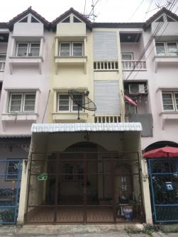 ทาวน์เฮ้าส์ 3 ชั้น 216 ตร.ว. ซอยพงษ์สวัสดิ์13 นนทบุรี